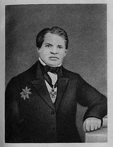 Н.И.Лобачевский в последний год жизни. 1855